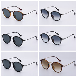 e3315a3b87 8 Fotos D modelos online-Gafas de sol de diseño modelo redondo hombre mujer  gafas de sol