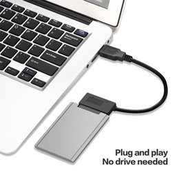 Laptop drive adapter online shopping - Sata Pin USB Adapter USB to Micro SATA Hard Drive Adapter Cable Pin for Inch SSD HDD Laptops Gbps Data Tranfer