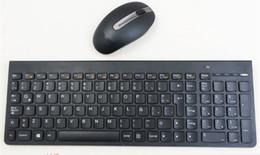 400873ec189 Wireless Multimedia 2.4G Ultra-thin Mute Keyboard Mouse Set for Lenovo SK- 8861 Russian Thai Turkish Swiss Czech Latin Spanish