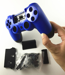$enCountryForm.capitalKeyWord Australia - High quality PS4 Full Housing Shell Case Repair Parts Protector Cover Glossy surface for Sony PS4 Controller Gamepad free shipping