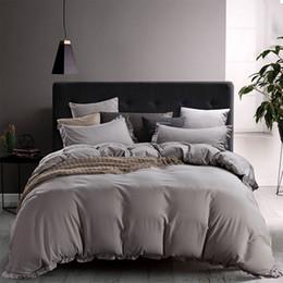Toptan satış İKİZ Tam QUEEN KING California King Boyutu için Toptan 3PCS Yorgan Seti Nevresim Yastık Yatak Çanta Formu