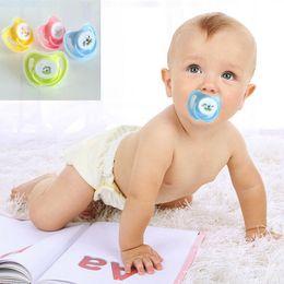 $enCountryForm.capitalKeyWord Australia - Funny Baby Kid Mini Orthodontic Dummy Pacifier Nipples Teeth -grade Silicone Orthodontic Dummy Teat Soother 0-2M
