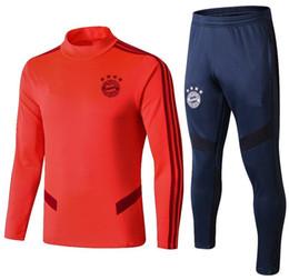 Chinese  Thai quality Bayern Munich soccer tracksuit 2019 bayern football training suit 19 20 Man HUMMELS LEWANDOWSKI ROBBEN MULLER tracksuit jogging manufacturers