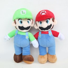 "Chinese  2019 Super Mario Bros Plush Toy Mario And Luigi Stuffed Animals Plus Toys For Gifts 9"" 23cm manufacturers"