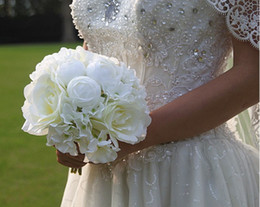 $enCountryForm.capitalKeyWord Australia - Simulation rose hydrangea bride bridesmaid holding bouquet wedding flowers living room table home vase flower arrangement