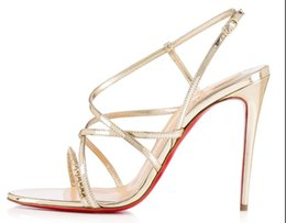 Venta al por mayor de Moda clásica zapatos de tacón alto para mujer zapatos de boda zapatos de novia sandalias R21