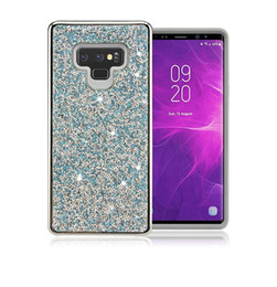 Rhinestone Cases Lg Australia - For Samsung note9 s10 s9 plus Premium bling 2 in 1 Luxury Diamond Rhinestone Glitter Phone Case For iPhone XR XS MAX X 8 7 6 LG Stylo 4