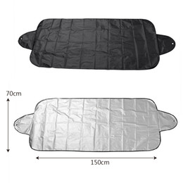 $enCountryForm.capitalKeyWord Australia - Anti Snow Shield Car Covers Windshield Shade Windscreen Cover Dust Protector Auto Front Window Screen Cover 150*70cm Car-styling