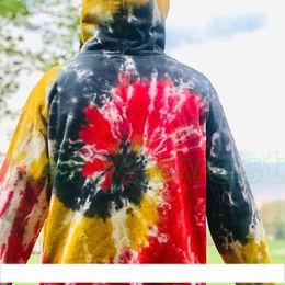 $enCountryForm.capitalKeyWord Australia - 19FW new designer brand Drew House Tie Dyeing Hoodies JUSTIN BIEBER Sweatshirts Couple Top Oversize Coats good quality Fashion Hooded HipHop