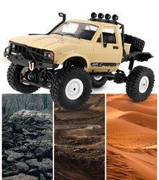 electric road cars Canada - Drift Speed Car 15KM h Electric Off Road Truck 2.4G 4WD Mini RC Racing Car Vehicle Toys Four Wheel interlocking climbing Juetes Cool Gadgets