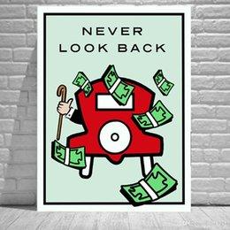 Ingrosso Never Look Back, Home Decor HD Stampato su tela moderna (senza cornice / con cornice)