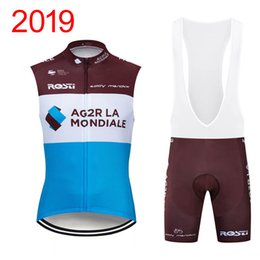 High Quality Cycling Clothing Australia - 2019 New Arrival Team Cycling Sleeveless Vest Jersey Men High quality Summer Racing Clothing Shirt Bib shorts set Bicycle clothes