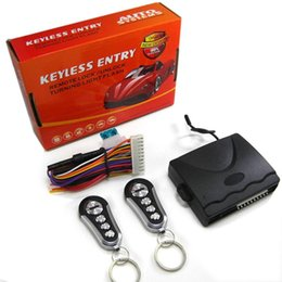 dc lock Australia - 1-Way Car Keyless Entry System Without Siren For 12V DC Vehicle Which Have Central Door Lock System