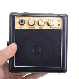New Daphon Mini AMP1 3W Electric Gutiar AMP Portable with Belt Clip Free shipping MU0480 on Sale
