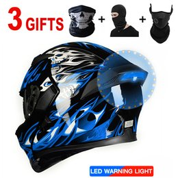 $enCountryForm.capitalKeyWord NZ - SPECIAL OFFER 2019 new light motorcycle helmet racing color cool helmet with flashing LED lights driving safer at night