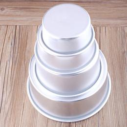 """$enCountryForm.capitalKeyWord Australia - 4"""" Aluminum Alloy Non-stick Round Cake Baking Mould Pan Tin Tray Bakeware Tool"""