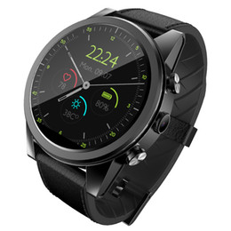 Smartwatch Gps Wifi Camera Australia - X360 4g Smart Watch Android 7.1 WIFI 3gb+32gb with GPS 2MP Camera Pedometer Heart Rate Monitor 600mah Battery Men Smartwatch