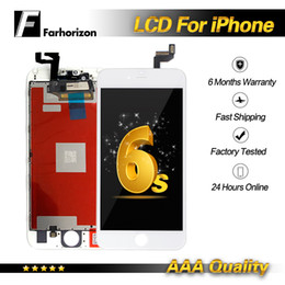 iphone 6s screens NZ - For iPhone 6s LCD Display 100% Quality Touch Screen Digitizer Assembly Display Without Dead Pixel & Free DHL Shipping