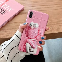 cartons for mobile phones NZ - fashionable carton pattern phone iphone for cover xs case xs xr x cute mobile phone phone max case Jmpgv