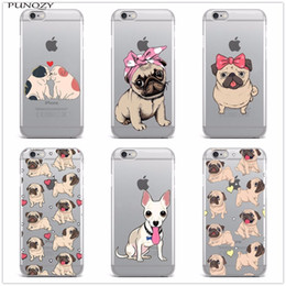 $enCountryForm.capitalKeyWord NZ - For Iphone 6 Cute Cartoon Animal Dog Pug Tpu Soft Silicone Phone Case For Iphone X 8 8plus 7 7plus 6s 6plus 6splus 5 5s Se