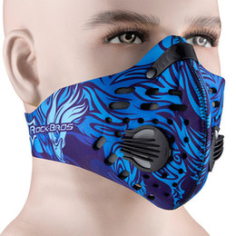 $enCountryForm.capitalKeyWord Australia - Men Women Activated Carbon Dust-proof Cycling Face Mask Anti-Pollution Bicycle Bike Outdoor Training Half Face Mask Shield