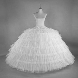 $enCountryForm.capitalKeyWord NZ - 6 Hoops 6 Layers Ball Gown Petticoats White Petticoat Crinoline Underskirt Big Ruffle Wedding Accessories Tulle Underskirts