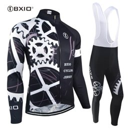 mens long sleeve winter cycling jerseys NZ - BXIO 2020 Long Sleeve Cycling Jersey Sets Winter Mens Pro Tour Racing Bicycle Clothing Uniformes De Ciclismo Para Hombre 080