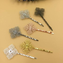 Jewelry Sets & More Nice Sea Mew 20 Pcs 75*55*45mm Metal Copper Filigree 10 Teeth Hair Combs Base For Women Hair Comb Wedding Diy Jewelry Accessory