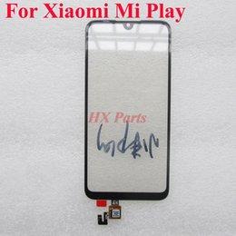 $enCountryForm.capitalKeyWord UK - 10x Front Panel For Xiaomi Mi Play MiPlay Touch Screen Digitizer Glass Sensor Mobile Phone Touch Panel Sensor