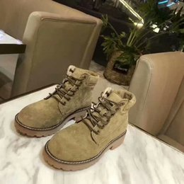 $enCountryForm.capitalKeyWord Australia - Women Retro Shoes Free Shipping Winter Martin Boots Leather Boots Lace-up Non-slip Thick Heel Knight Martin Boots