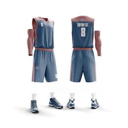 cb7bd7578b7 Basket Jersey UK - Men & Child Basketball Jersey + Shorts College Basketball  uniform Cheap Basket