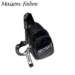 $enCountryForm.capitalKeyWord Australia - Maison Fabre Bag men women Leather handbags phone girls Letter shoulder bags for men 2019 Summer Ladies Small Square Chest bags