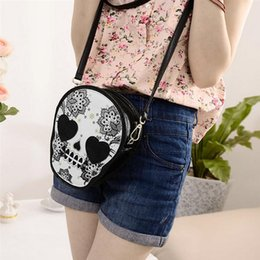 $enCountryForm.capitalKeyWord Australia - Women Mini Bag Messenger Bags Punk Skull Crossbody Bags For Girl Casual Ladies Small Shoulder Bag 2018 Female Bolsas Femininas