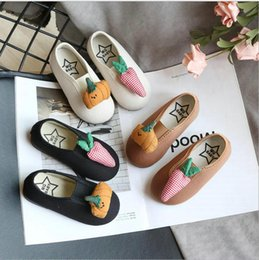 $enCountryForm.capitalKeyWord Australia - Kids Shoes For Girls Sneakers Flat Shoes Single Candy Color Soft Spring Dance children Canvas Shoes