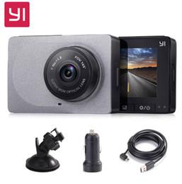 "Hd Car Cams Zoom Australia - Xiaomi YI Dash Camera 2.7"" Screen Full HD 1080P 60fps Car DVR Vehicle Dash Cam"
