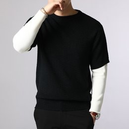 $enCountryForm.capitalKeyWord Australia - YUSHU New Brand Wool Sweater Men Autumn Fashion Long Sleeve Knitted Pullover Korean Slim Fit Knitwear