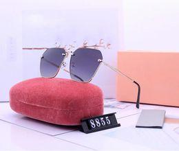Best Glasses For Sun Australia - 8855 1PCS Best Selling Fashion Rectangle Classic Brand Designer Sunglasses For Mens Womens Eyewear Sun Glasses 60mm Black Frame Green Glass