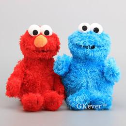 $enCountryForm.capitalKeyWord Canada - High Quality Sesame Street Elmo Cookie Soft Plush Toy Dolls 30-33 cm Children Educational Toys