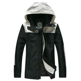 $enCountryForm.capitalKeyWord NZ - Men luxury designer MO NCLERS jacket spring autumn fashion loose hooded jacket personality brand high quality windbreaker stitching jacket
