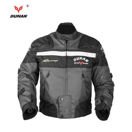 $enCountryForm.capitalKeyWord NZ - DUHAN Motocross Off-Road Racing Jacket Motorcycle Jackets Body Armor Protective Moto Jacket Motorbike Windproof Clothing