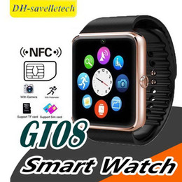 $enCountryForm.capitalKeyWord Australia - (Factory sale)GT08 Bluetooth Smart Watch with SIM Card Slot and NFC Health Watchs for Android Samsung and IOS Apple iphone Smartwatch