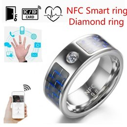 $enCountryForm.capitalKeyWord Australia - Fashion New Smart Ring Fashion Jewelry Rings Wearable Electronic for Ios Android Mobile Phone Fashion New Waterproof Smart Ring