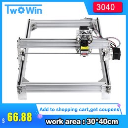 $enCountryForm.capitalKeyWord Australia - 500mw 2500mw 5500mw 7w Desktop DIY Violet Laser Engraving Machine Picture CNC Printer, working area 30cmx40cm