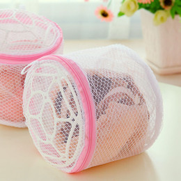 Laundry Clothes Hanger Rack Australia - 2019 Multifunction Wash Protect Bag Bra Care With Hanger Bra Underwear Storage Drying Rack Basket Laundry Bags & Baskets 19x14cm