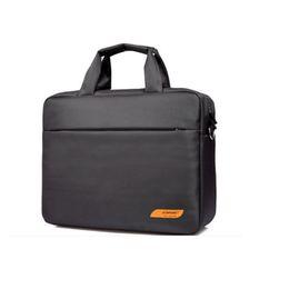 Discount zipper clear bags 15 - Waterproof women men business briefcase funda portatil 15.6 15 sleeve laptop messenger bags handbag baobao travel luggua