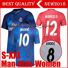 real madrid thailand 2019 - Real Madrid EA Sports Jersey MODRIC MARIANO  ASENSIO BALE Champion league 889738102
