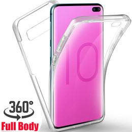 $enCountryForm.capitalKeyWord Australia - Transparent Clear 360 Full Body Hybrid TPU PC Armor Case For iPhone XR XS MAX X 8 7 6 Samsung S6 S7 Edge S9 Plus Note 9 S10 S10e J4 J6 2018