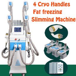 Wholesale 2019 Factory price Cryo Cryolipolysis Handles Fat Freezing Ultrasound K Cavitation cryo Weight Loss slimming Machine