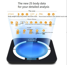 $enCountryForm.capitalKeyWord NZ - Intelligent Health Electronic Scale Bluetooth Charging Aperture for Fat Measurement with Household Precision Body Fat Scale free shipping