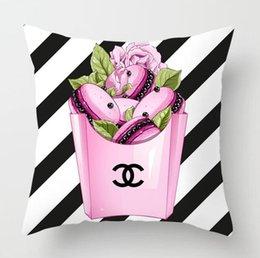 Wholesale 2020 Fashion polyester pillowcase 45 * 45cm living room sofa simple and comfortable cushion pillowcase (no pillow)